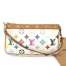 Louis Vuitton Monogram Multicolor Pochette Accessories Pouch Hand Bag /102GB