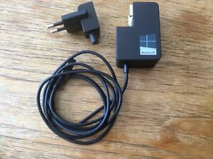 Microsoft Surface 24W Charger, Charging Cable, Netzteil, Auflader, Ladekabel