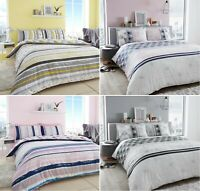 Luxuries EARLYE MARBLE Printed Reversable Duvet Cover+Pillow Case Bedding Set Gc