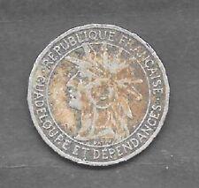 1 Franc GUADELOUPE 1903  TTB/VF KM.46
