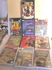 JEUX CD ROM PC LOT DE 10