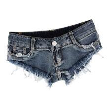 Taille basse Shorts Mini Hot Pants Jeans Sports Micro Denim Beach Casual 8b03d2fc2db