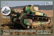 IBG 1/72 tipo 89 giapponese MEDIUM TANK Otsu DIESEL # 72041