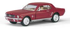 Oldtimer Sammlermodell 1964 1/2 FORD Mustang dunkelrot ca. 1:36 KINSMART Neuware