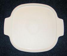 1 NEW CORNING WARE White Plastic Lid A-2-PC Fits 2 Qt, 3 Qt Casserole Dish MINT!
