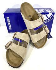 Birkenstock Arizona BS Women's Size 8(EU39)N Fit Taupe Suede Slide Sandals S1-85
