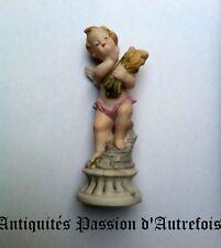B201668 - Petite figurine angelot en biscuit de porcelaine 1950-70