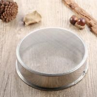 Stainless Steel Mesh Flour Sifting Sifter Sieve Strainer Cake Baking Kitchen RF