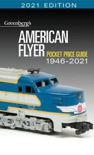 Kalmbach American Flyer 2021 Guide Greenberg's Value Book S Gauge 108621