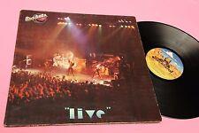 ROCKETS LP LIVE ORIG ITALY 1980 GATEFOLD COVER