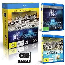 National Geographic Best Of 125 Years - Great Migrations / Alien Deep Blu-ray
