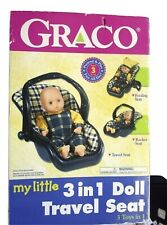 GRACO MY LITTLE DOLL 3 IN 1 Travel Seat Doll Size Toy NEW IN THE BOX