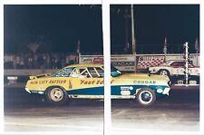 "1960s Drag Racing-Fast Eddie Schartman's '68 Cougar ""AIR LIFT RATTLER"" vs USA 1"