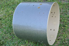 """PEARL 22"""" EXR EXPORT SILVER SPARKLE BASS DRUM SHELL for YOUR SET! LOT #Z30"""