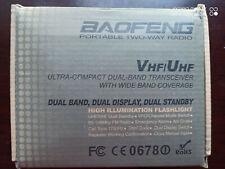 Baofeng UV-5R VHF/UHF 2m/70cm Dual Band DTMF Dual-Dand FM Ham Two way Radio US