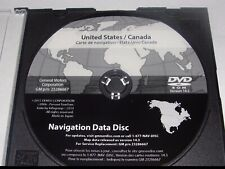 2007- 2009 Cadillac Escalade 2016 Navigation DVD Map Update GM p/n:23286667 14.3