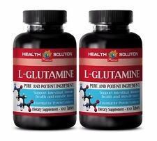 Muscle gainer - L-GLUTAMINE 500MG 2B - l-glutamine by designs for health