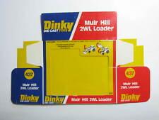 Dinky 437,Muir Hill 2WL Loader - Only the Original Box / Boîte seule - MINT