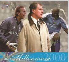 Futera Fans Selection Millennium 2000 Oversize Centrepiece Card Manchester City