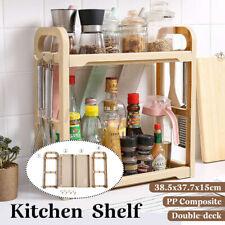Kitchen Shelf Spice Jar Knives Holder Condiments Storage Organizer Rack Shelf K