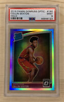 2018-19 Donruss Optic Holo Silver Collin Sexton RC Rookie Prizm PSA 9 Mint