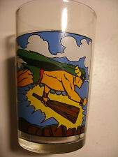 verre à moutarde French Drinking Glass MIGHTY MIGHTOR Hanna Barbera