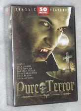 Pure Terror 50 CULTE & CLASSIQUE HORREUR films DVD Coffret sans zonage -