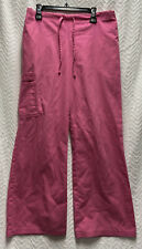 Sb Scrubs Shocking Pink Size Xs Cargo Scrub Pants