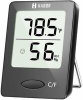 Humidity Meter, Habor Indoor Thermometer Hygrometer [Mini Style], Accurate