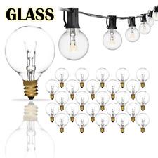 25/50/100FT G40 Outdoor String Globe Bulbs Light Yard Garden Lighting Waterproof