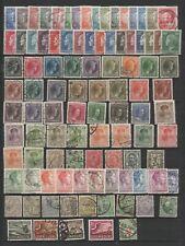 LUXEMBOURG lot de vieux timbres petits formats