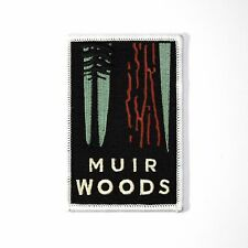 Official Muir Woods National Monument Souvenir Patch California Park