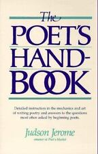 The Poet's Handbook by Judson Jerome (1986, Paperback)