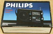 Philips D2040 FM/MW Vintage Portable Radio New Old Stock