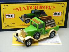 Matchbox MoY Code 2 YEX-41 Ford A Umbau zum PickUp mit Ladung blaue Box 1 von 9