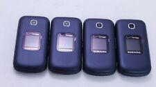 LOT OF 4 EXCELLENT VERIZON SAMSUNG GUSTO 3 SM-B311V FLIP PHONE CLEAN ESN