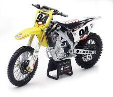 Suzuki RM-Z450 Racing Team K.Roczen, NewRay Moto Modelo 1:6, Art.49523