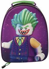 Lego Batman Joker 3D Lunch Bag Children School Bag