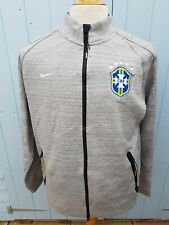 Nike Brasil N98 Tech Tracksuit Track Top Jacket Grey Large