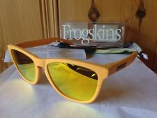 NEW Oakley Limited Edition Frogskins - Pike's Gold / Fire Iridium, 24-343