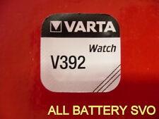 PILA BATTERIA VARTA mod. V392 - V384 A BOTTONE PER OROLOGI SR 41 W