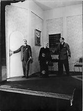PHOTO-Ch. de Rochefort, Mary Grand, Max Maxudian dans Désarroi-VINTAGE PRINT