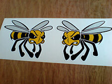 ANGRY WASP Car Motorcycle All Lambretta Vespa Scooter Fans Sticker 2 off 90mm