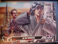 Topps Star Wars Illustrated A New Hope #1 At the Vaporator MINT