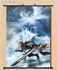 Cloud Strife Sephiroth Final Fantasy Vii 7 Home Decor Japan Poster Wall Scroll D