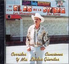 El As De La Sierra Corridos Canciones y Mis Lindas Gueritas CD New Sealed