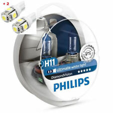 Philips Diamond Vision H11 Twin - 2 free LED T10/W5W