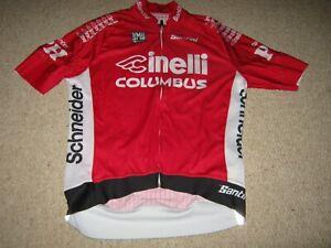 Cinelli Columbus Santini Italian cycling jersey [XXL]