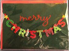 "Papyrus CHRISTMAS Greeting Card ""MERRY CHRISTMAS"""