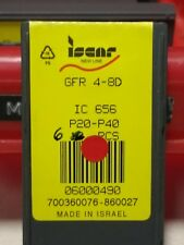 6x Iscar Parting Off inserts  GFR4 8D  IC656